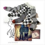 Calzino lavorato a maglia unisex antiscorrimento del capretto di colore su ordinazione di marchio