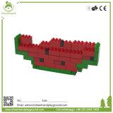 O campo de jogos seguro do edifício do uso comercial brinca blocos de apartamentos da espuma do PPE