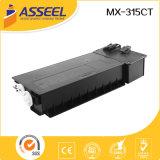 2017 toner compatibile di vendita caldo Mx-315CT per Sharp
