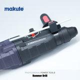 Máquina rotatoria eléctrica máxima del taladro de martillo de Makute 800W 26m m SDS