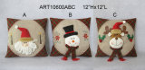 Amortiguador de la decoración del día de fiesta del muñeco de nieve de la Feliz Navidad
