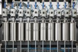 À piston complètement automatique pour la machine de remplissage d'huile de table