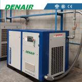 Compresor de aire conducido velocidad caliente del tornillo de Variale de la venta para la fábrica de goma
