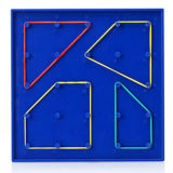 Geoboard, Double-Sided Toy W / Bands (CB-ED008-Y)