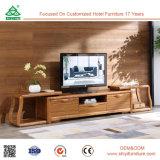 Möbel-kleiner Ecke Fernsehapparat-Standplatz hölzerner Fernsehapparat-Tisch