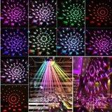 Lampada girante della sfera di cristallo del partito dell'indicatore luminoso della discoteca della sfera di illuminazione di sogno profonda dello stroboscopio