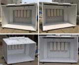 Cabine de plain-pied de peinture de poudre pour des métaux d'enduit
