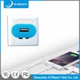 Chargeur gauche simple personnalisé du téléphone mobile USB de course universelle de Portable