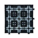 Le mattonelle ed i marmi di tetto esterne dell'ardesia della decorazione di paesaggio del giardino che collegano le mattonelle della moquette del pavimento facili installano