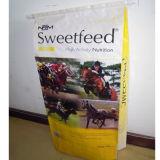 馬供給によって編まれるSacks/ColorのフィルムのWppの供給Bag/20-25kgによって薄板にされるPP袋