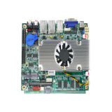 Fanless grafico Integrated Mainboard con orificio 2 RJ45