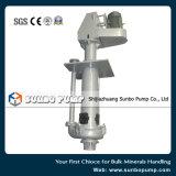 Bomba vertical centrífuga da pasta do depósito da bomba 100RV de China Sunbo para a mineração & o processamento mineral