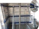 Coffrage en aluminium pour le béton