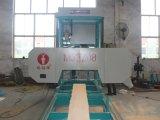 Le découpage en bois horizontal de scierie portative de bande a vu la machine