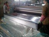 África galvanizó la placa de material para techos/la hoja de acero acanalada galvanizada sumergida caliente