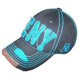 6 бейсбольная кепка помытая панелями с логосом Bb100