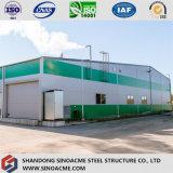 Armazém claro Prefab da construção de aço para o armazenamento