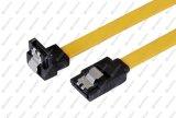18-Inch rechtwinklig zum geraden HDD Kabel des Festplattenlaufwerk-SATA
