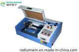 Preiswerter Mikrobleistift und Glas-CNC-CO2 Laser-Gravierfräsmaschine 3020