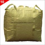 Sacchetto tessuto pp del polipropilene grande per i prodotti alimentati e granulari