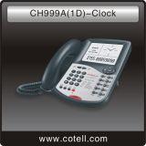 كبيرة شاشة فندق هاتف مع ساعة ([ش999ا] ([1د]) - ساعة)