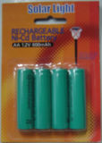 Солнечная светлая батарея, батарея Nimh