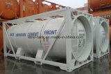 20FT 식용 음식, 기름, 화학제품, 연료를 위한 26000L 스테인리스 탱크 콘테이너