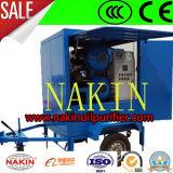 Double épurateur de pétrole de transformateur de vide d'étapes de Zym, filtration de pétrole/système de purification