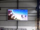 3 dans 1 Afficheur LED fixe d'intérieur P3.91 polychrome SMD2121 DEL noire de 64 x 64 Pixel