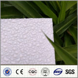 El policarbonato de China grabó la hoja de la PC de 1.8mm-10m m para el material para techos