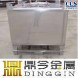 1000販売のためのリットルのステンレス鋼IBCの戦闘状況表示板タンク