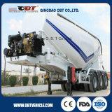 3 차축 70 Cbm 반 대량 시멘트 분말 물자 수송 유조선 트레일러