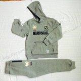 O esporte popular dos miúdos das crianças da forma sere a roupa com Hoodies e arfa Sq-6715