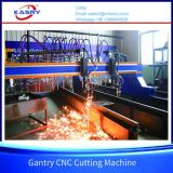 Плазма CNC Gantry нержавеющей стали и автомат для резки кислорода