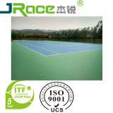 Court de tennis en caoutchouc Absorption avec revêtement PU Surface sport