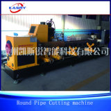 Machine de découpage de commande numérique par ordinateur de plasma de pipe en acier de fabrication en métal