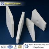 Baldosa cerámica de alúmina con corte para Proyecto Minero
