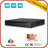 4CH 3m/1080P/720p Tvi o Ahd o 960 h. P. 2p Hybird DVR