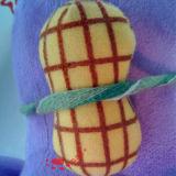 견면 벨벳 아기 장난감 코끼리 (TPKT0483)