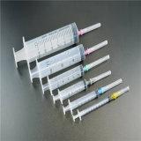 Três partes descartáveis estéreis da seringa