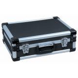 Большой черный алюминиевый трудный случай инструмента - 18.1 x 13 x 6 внутренне дюймов блока пены Lbah-152