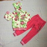 Velo/ternos franceses do esporte de Terry Gilr na roupa das crianças (fechar-acima hoodies+pant) Sq-6212