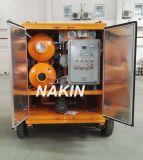 Purificador de aceite del transformador del vacío del tipo móvil con el remolque (3000L / H)