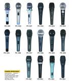 Цена микрофона Karaoke металла одиночной связанное проволокой звездой самое лучшее, хорошее качество
