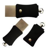 Schlüsselring-Blitz-Laufwerk des Silber-USB3.0