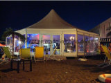 De Hexagonale Achthoekige Twaalfhoekige Tent van de luxe voor de OpenluchtPartij van het Huwelijk