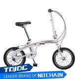 a bicicleta de dobramento elétrica de pouco peso da movimentação de eixo de 20 da '' velocidades Foldable da bicicleta 16inch Shimano 3 polegada certificou para adultos da mulher
