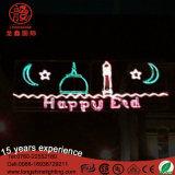 Outdoor LED Decoração islâmica Ramadan Lanternas Craft Decorative Lights