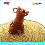 24mm DIYのエナメルペットカラーPendent宝石類の卸売、合金犬の魅力のペンダントのブルドッグのパグの忠実な犬