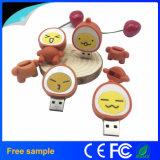Disco instantâneo do USB do PVC do ovo dos desenhos animados do preço de Facyory